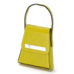 LADY'S HANDBAG, YELLOW