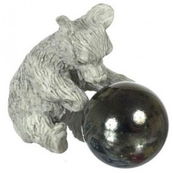 STONE BEAR W/ BALL, 2PCS