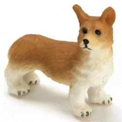 "1/2"" SCALE CORGI, RED"