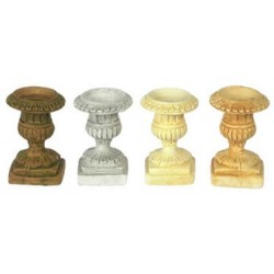 "1/2"" SCALE URN, 6PC, IVORY"