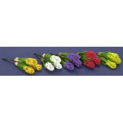 HYACINTH, 3PC, RED