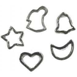 COOKIE CUTTER, SET OF 5