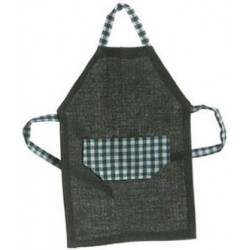 MENS APRON, GREEN