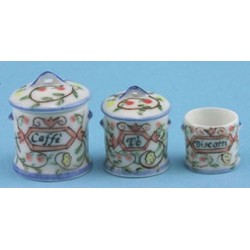 ROUND CANISTER, SET OF 3