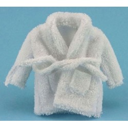 KIDS BATHROBE, WHITE