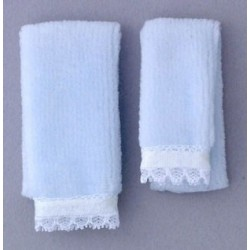 TOWEL SET, BLUE
