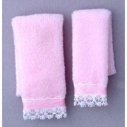 Towel Set, Pink
