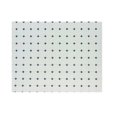 TILE: DIAMOND, 12X16, BLUE, JR439