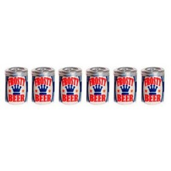 BEER CANS, SET 6