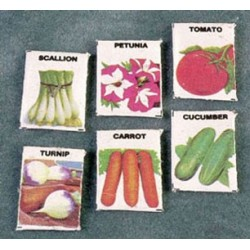 SEED PACKETS (SET OF 6)