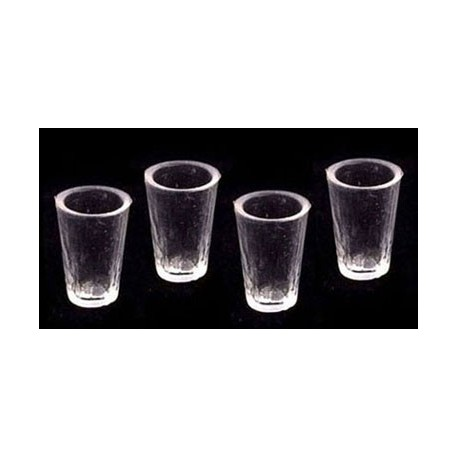 GLASSES, SET OF 4