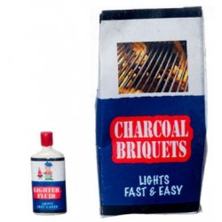CHARCOAL BRIQUETS W/LIGHT