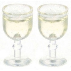 GLASS OF WHITE WINE, 2