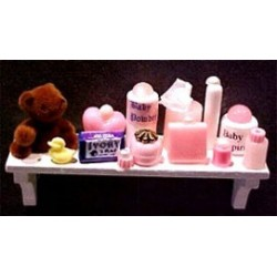 BABY LONG SHELF-PINK (2-3/4 IN LONG)