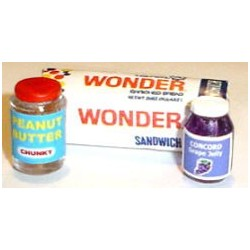 WONDER BREAD, PB & J
