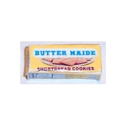 BUTTER MAIDE SHORTBREAD COOKIES - BOX