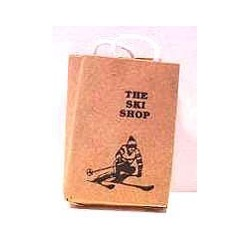 THE SKI SHOP SHOPPING BAG