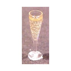 GLASS OF CHAMPAGNE (FLUTED)