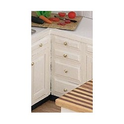 ASSEMBLED UNFINISHED CABINET, 1-1/2 IN BASE