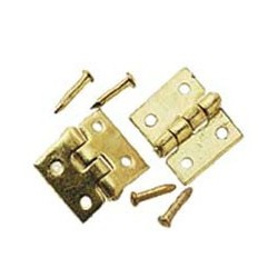 Brass Door Hinge 6Pc/Pk