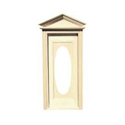 &CLA76002: VICTORIAN OVAL DOOR W/WINDOW