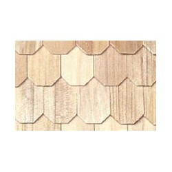 OCTAGON BUTT SHINGLES, 100 PC./BAG