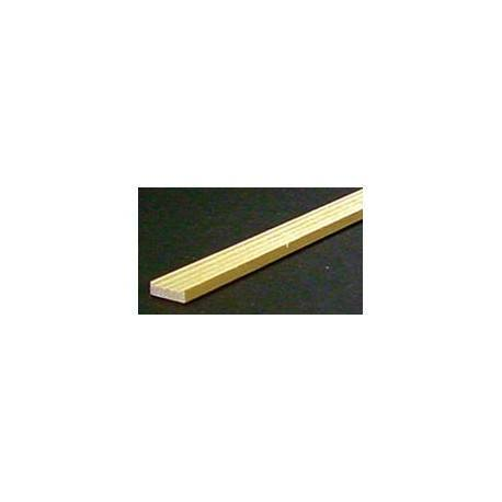 GROOVED WINDOW TRIM, 24 IN. LONG