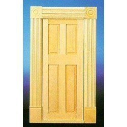 Fancy Door With Trim
