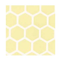 Yellow Large Hexagon