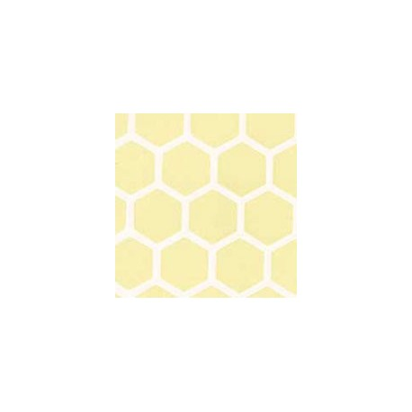 YELLOW LARGE HEXAGON FLR