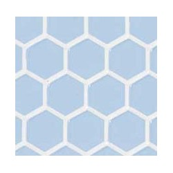 Blue Large Hexagon