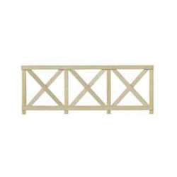 Crossbuck Fence 6 Pcs