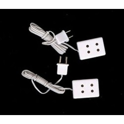 Twin Socket/2 Pcs