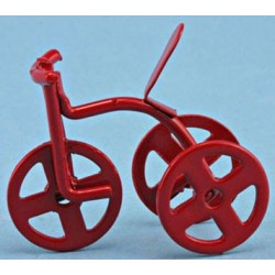 RED TRICYCLE, 1/2 SCALE