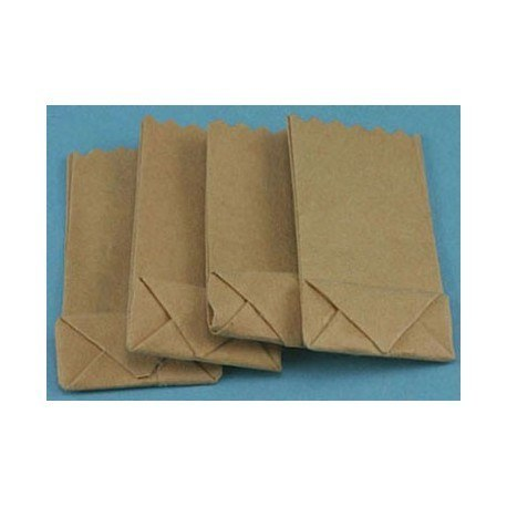 SMALL GROCERY BAG, 4PK