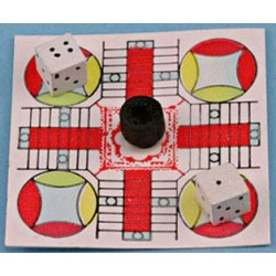 PARCHEESI BOARD GAME