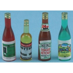 BOTTLE SET, 4PC