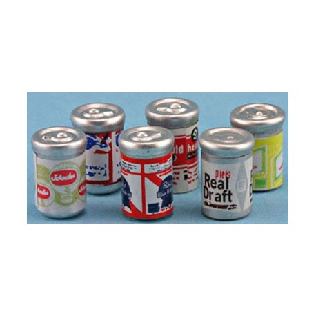 BEER CANS, 6PK