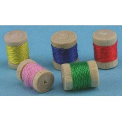 SPOOLS OF THREAD, 5PC
