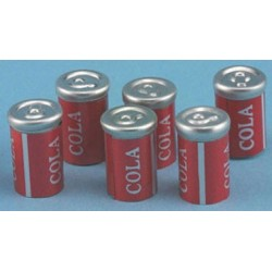 COLA CANS 6/PC