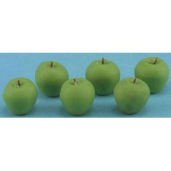 GREEN APPLES, 6PC