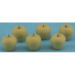 YELLOW APPLES, 6PC