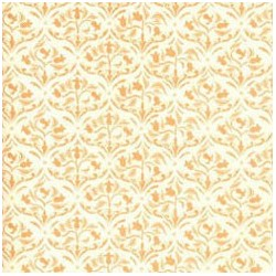 6 pack Wallpaper: Tulip Arabesque, Ivory