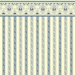 6 pack 1/2 Scale Regency Stripe, Blue