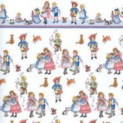6 pack 1/2 Scale Children On White