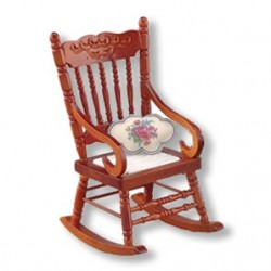 ROCKING CHAIR W/CUSHION