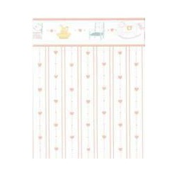 WALLPAPER: DOLLHOUSE HEARTS, PEACH