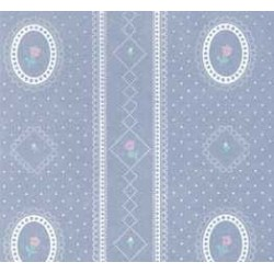 3 pack Wallpaper: Cameo Stripe Reverse, Blue