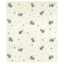 3 pack Wallpaper: Petite Fleur, Cream
