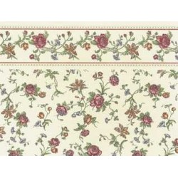3 pack Wallpaper: Raffina, Cream (rose)